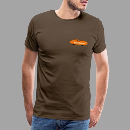 Saukki.com - Miesten premium t-paita