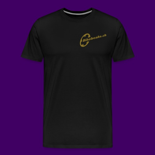 Bikefreaks ch 3 black - Männer Premium T-Shirt