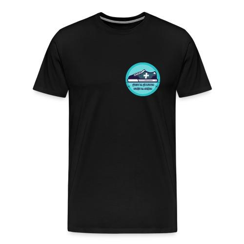 Gehe im Glauben nicht im Sehen - Männer Premium T-Shirt