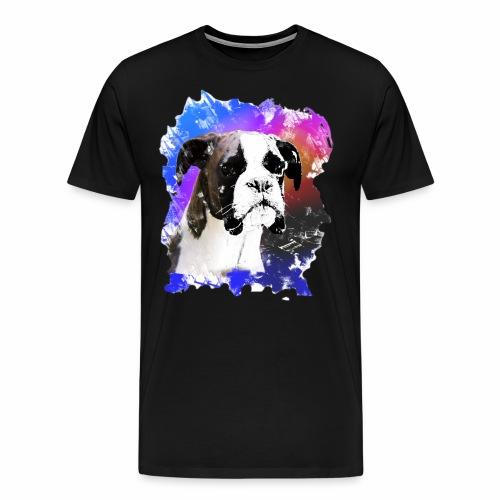 Boxer Welpe Portrait - Männer Premium T-Shirt