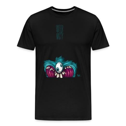 OneEyeTwoPupil [00110101] - Men's Premium T-Shirt