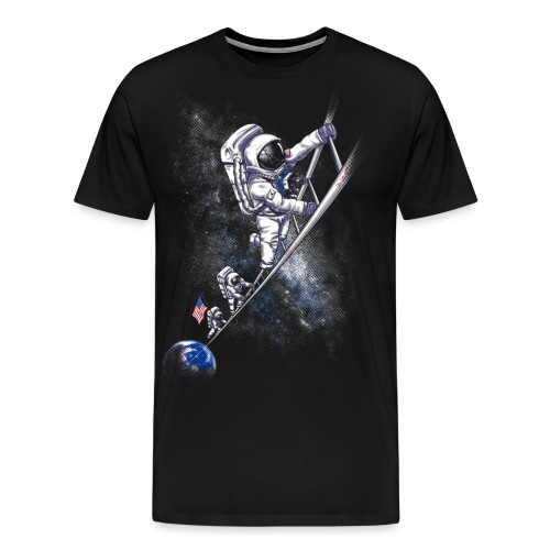 July 1969 spaceman - Men's Premium T-Shirt