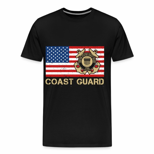 Coast Guard - Männer Premium T-Shirt