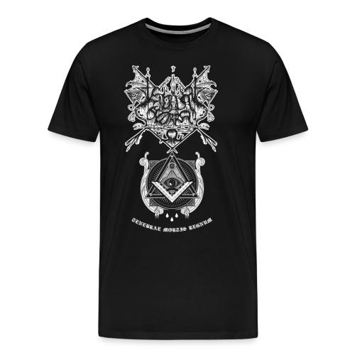 Tenebris Terra Tenebra Mortis Regnum - Camiseta premium hombre
