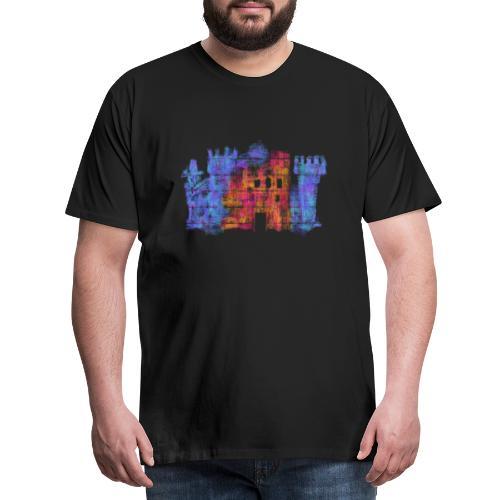 Castle - Premium-T-shirt herr