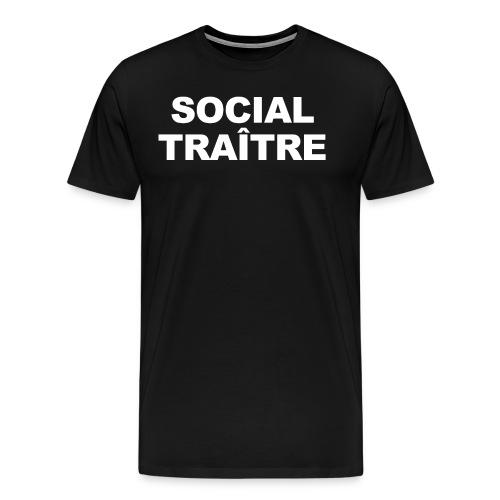 Social Traître gif - T-shirt Premium Homme