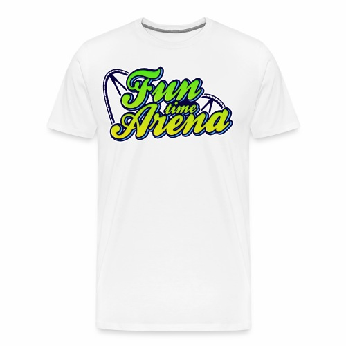 FunTime Schienen Front - Männer Premium T-Shirt