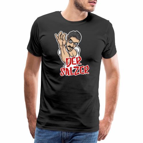 Der Salzer   Grillmeister Tshirt - Männer Premium T-Shirt