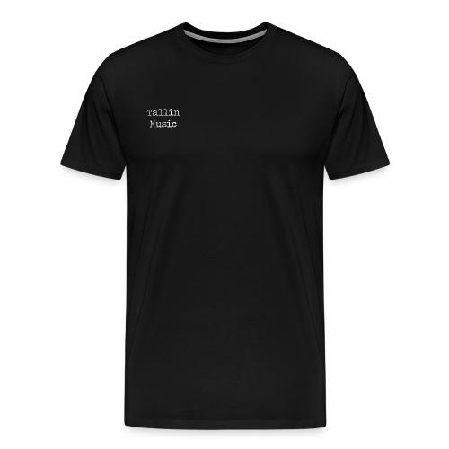 Tallin Music Black Collection 18/19 - Maglietta Premium da uomo