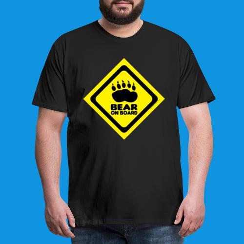 Bear On Board 3 tank - Men's Premium T-Shirt