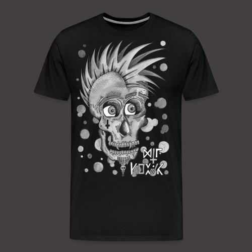 Autoportrait Noir et Blanc - T-shirt Premium Homme