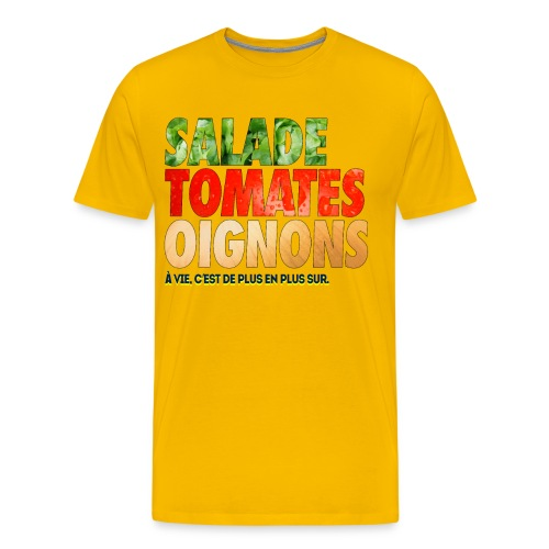 SALADEEE png - T-shirt Premium Homme