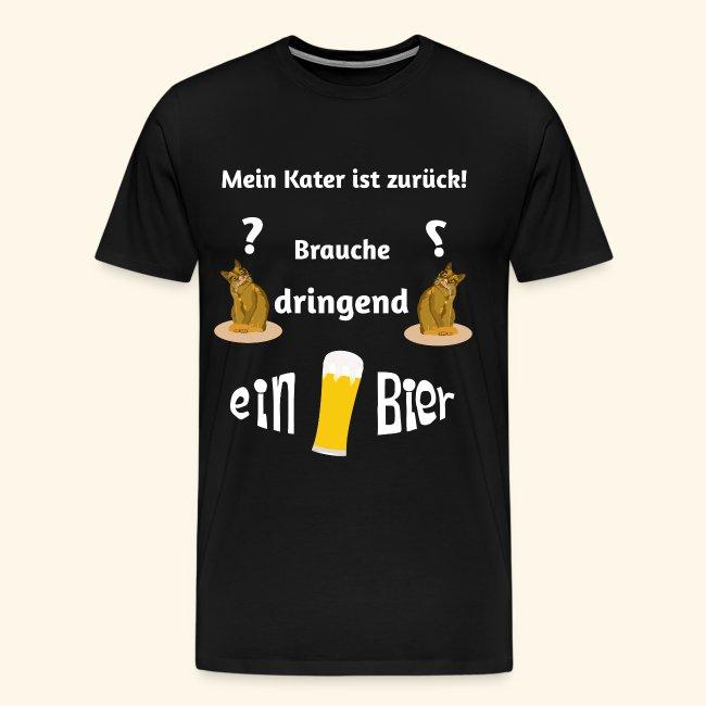 Katze, Kater und zu viel Bier
