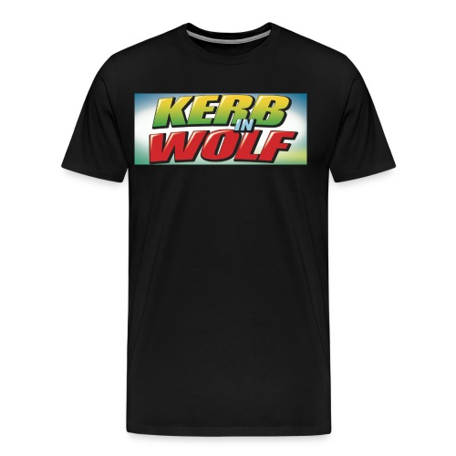 Logo Kerb in Wolf jpg - Männer Premium T-Shirt