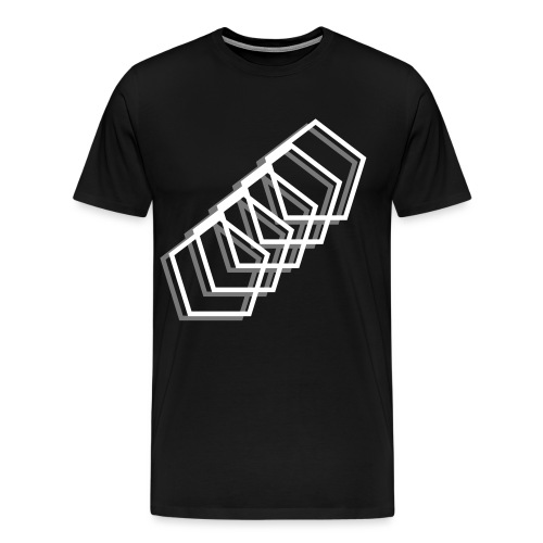 polygons - Men's Premium T-Shirt