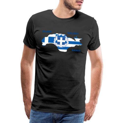 Samos Insel Holiday Ägäis Griechenland - Männer Premium T-Shirt