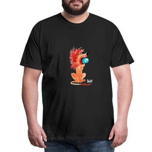 Ale 0004 00 Loewe der die Welt beherrscht - Männer Premium T-Shirt