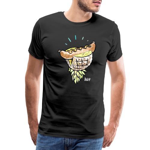 Stef 0005 00 tropical bratwurst - Männer Premium T-Shirt