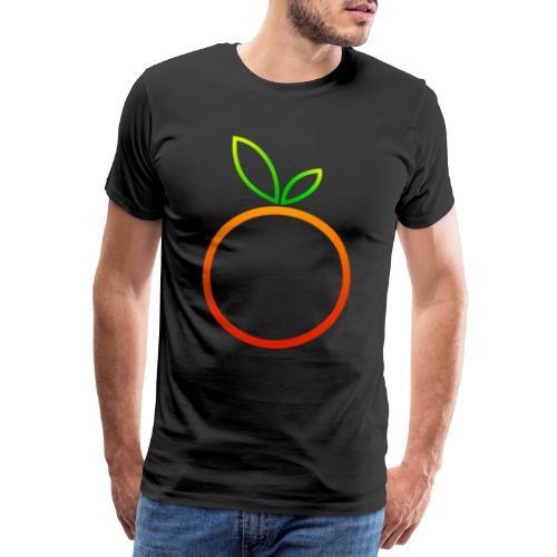 Apfel Apple Pomme Manzana Mela Äpple - Männer Premium T-Shirt