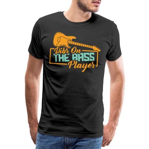 Bass Gitarre Musiker Musik Rock Gitarrist Bassist - Männer Premium T-Shirt