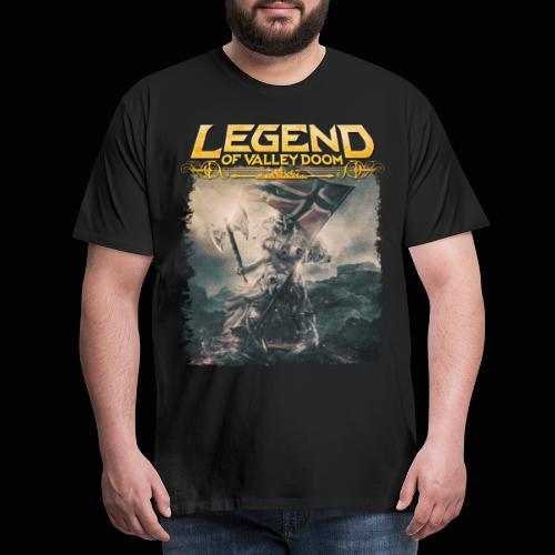 Legend of Valley Doom Norway - Men's Premium T-Shirt