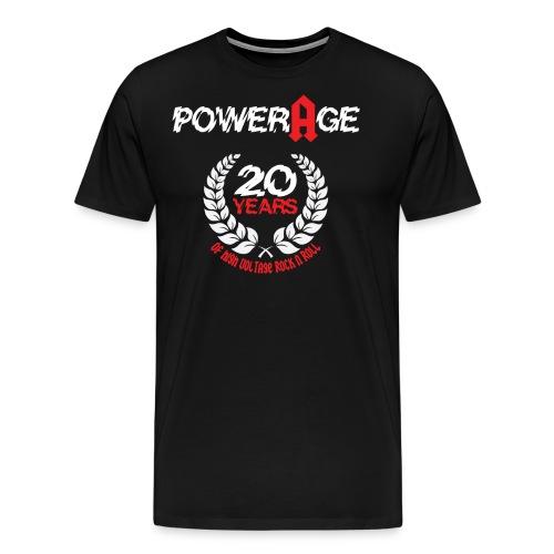 Powerage 20th AniversaryVoltage - Männer Premium T-Shirt