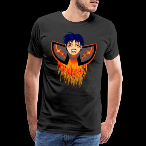vampire en flamme - T-shirt Premium Homme