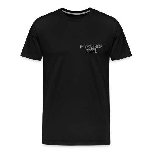 Brust Logo Patrick - Männer Premium T-Shirt