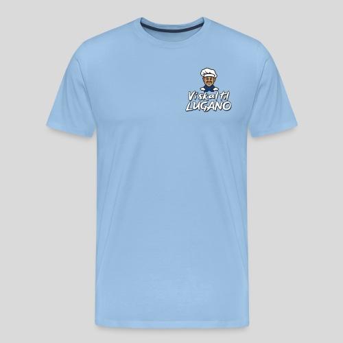 Lugano Bryst - Herre premium T-shirt