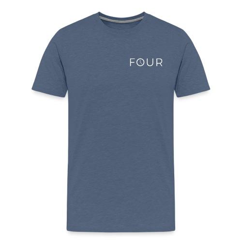 four6 png - Men's Premium T-Shirt