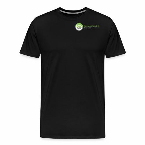 ElektroMobilitätsClub Logo - Männer Premium T-Shirt