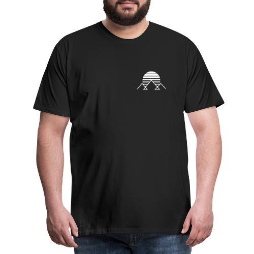 winterkind mountain sun - Männer Premium T-Shirt