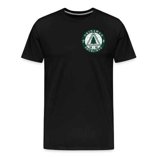 Klubmærke Traditionel placering - Herre premium T-shirt