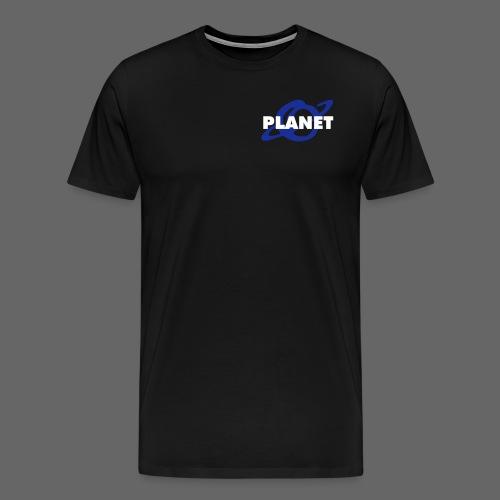 planet logo - Männer Premium T-Shirt