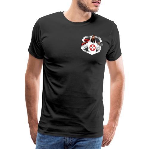 Swiss Fitness Hero - Männer Premium T-Shirt