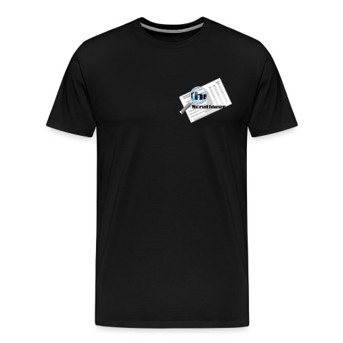 The scrutineer logo - Men's Premium T-Shirt