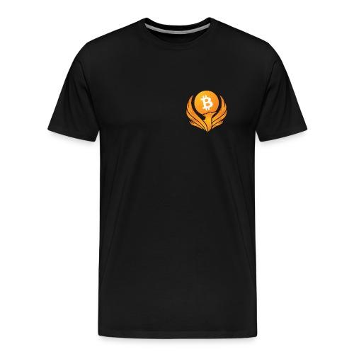 BITCOIN FENIKS - Koszulka męska Premium