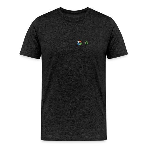 Elendig kvalitet pre logo png - Premium T-skjorte for menn