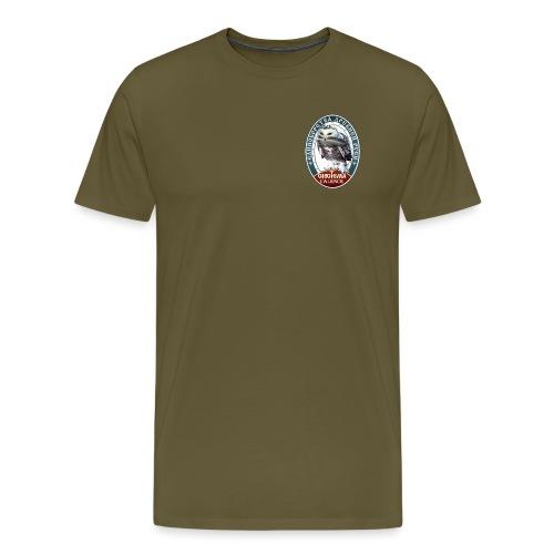 Logo avant + dos - T-shirt Premium Homme