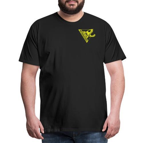 Logo Motoboquerones amarillo - Camiseta premium hombre