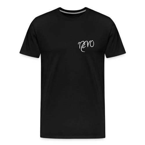 white NEVO - Männer Premium T-Shirt