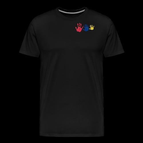 Kinderhände - Männer Premium T-Shirt