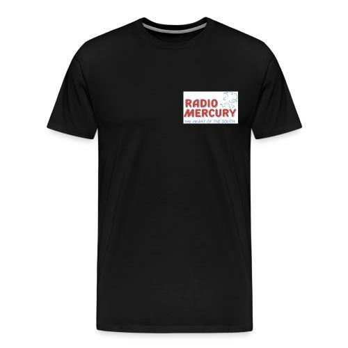 Radio Mercury Logo - Men's Premium T-Shirt