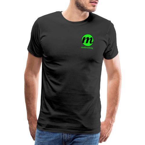 Motivademy Logo Print - Männer Premium T-Shirt
