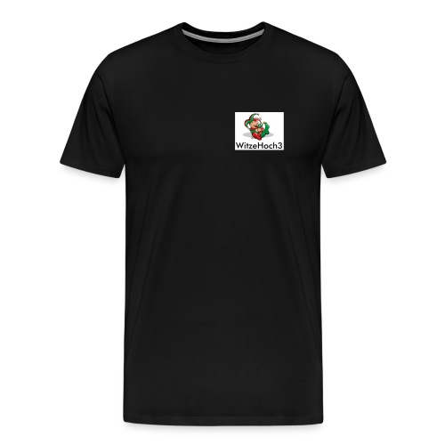 logo witzehoch3 - Männer Premium T-Shirt