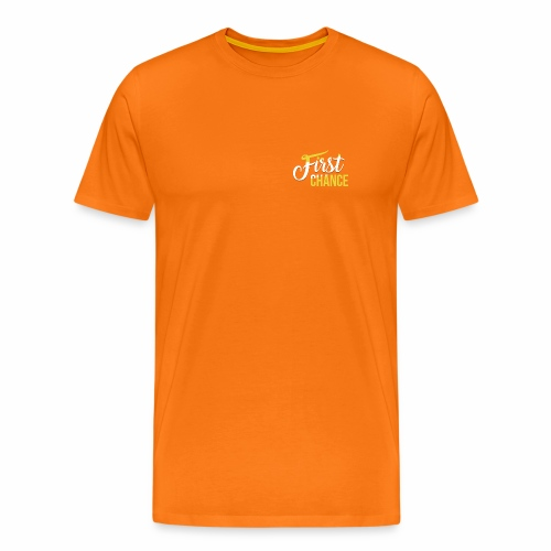 Logo Album First Chance - T-shirt Premium Homme