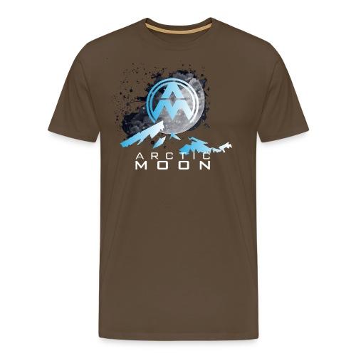 1whitetext png - Men's Premium T-Shirt