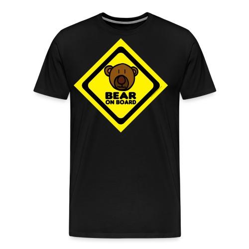 Bear On Board 1 tank - Men's Premium T-Shirt
