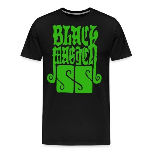 diseño camiseta black magick ss png - Camiseta premium hombre