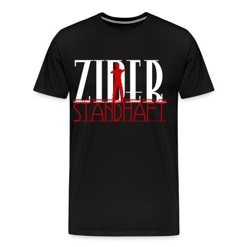 Standhaft Trainingsjacke - Männer Premium T-Shirt